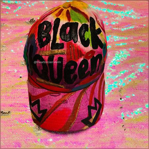 BLACK QUEEN  DAD CAP