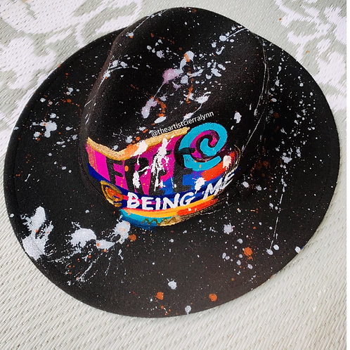 BEING ME- One Of A Kind Fedora Hat