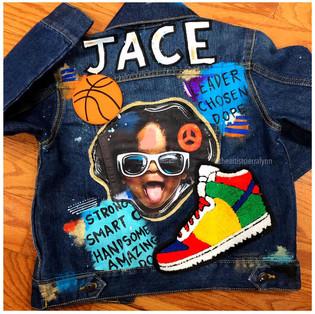 Jace: Toddler 2019 Digital Printed Portrait Patch Jacket