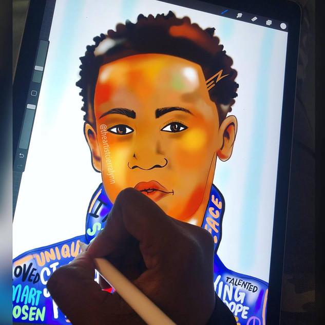 Black Boy Joy Illustration
