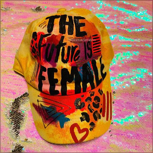 THE FUTURE IS FEMALE DAD CAP