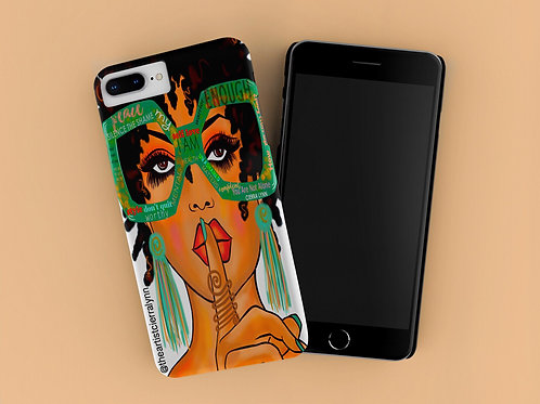 SILENCE THE SHAME  IPHONE CASE