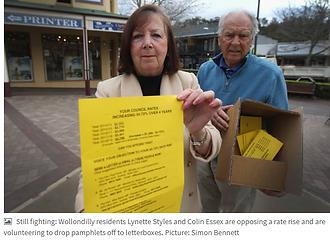 2016 Lynette Styles -Anti Rate Increase