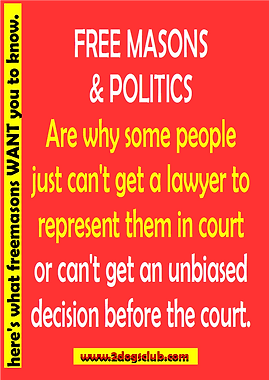 Card Free Masons and Politics Pg1 100pc.