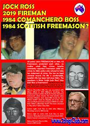 Card 1981-2019  Qu Jock Ross Fireman Com