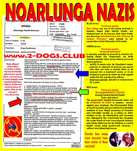 Card 2014 Confirmed Noarlunga Nazis - An