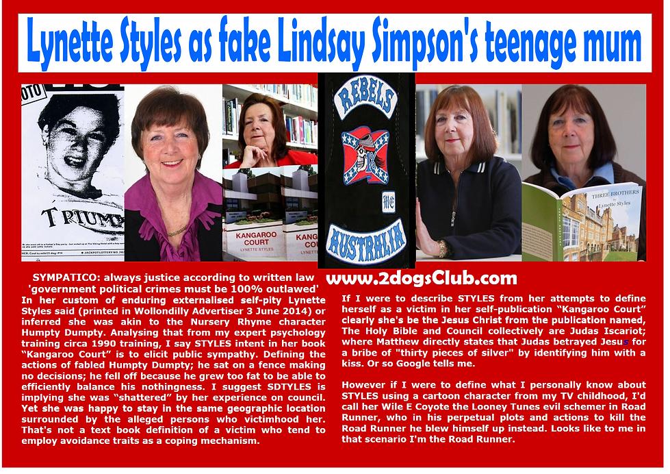 Card WSC Fake Lynette Leanne Styles 100p