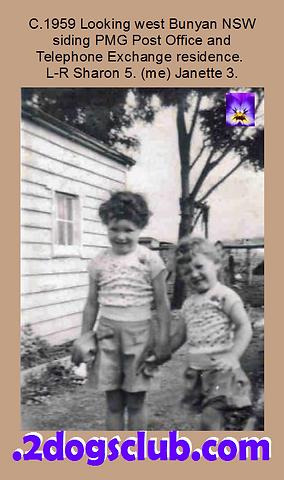 1959 Bunyan Janette and Sharon Bunyan Ho