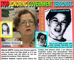 1989 Lindsay Simpson as 1984 Fake Leanne