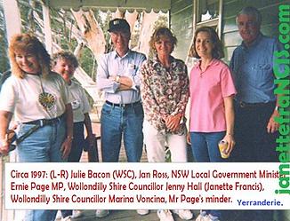 1997 WSC Janette at Yerranderie -Warraga
