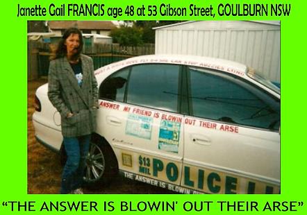 2003 Janette when Living in Goulburn the