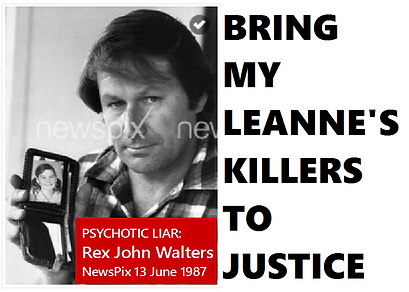 Card Rex John Walters Psychotic Liar AUS