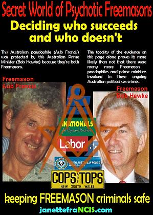 Card Secret World of Australian Freemaso