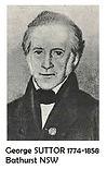 01 George SUTTOR 1774-1858 Bathurst NSW.