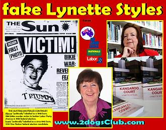 Card 2021 Fake Lynette Styles Kangaroo 1