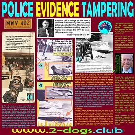 Card 1984 Police Evidence Tampering 100p