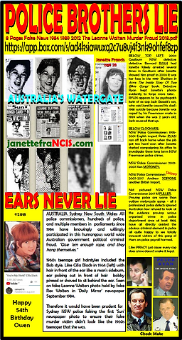 Card 1984-2018 Police Brothers Lie ears