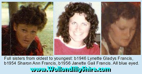 Card Three Full Sisters Lynette Gladys F