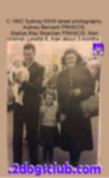 1952 Male Parent - Gladys, Lynette, baby