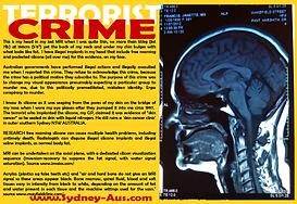 Card 2012 Terrorist Crime AU Politicians