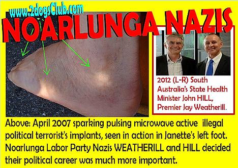 Card 2007 Noarlunga Nazis Janettes Foot