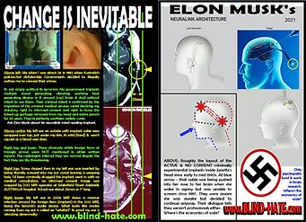 Card JOIN MRI x2 Elon Musk NAZI styled B