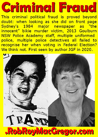 Card 2013 Election POLICE ACADEMY AREA H