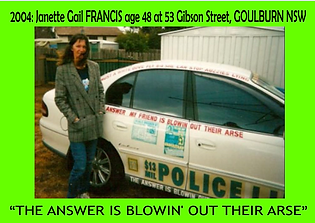 2004 Janette when Living in Goulburn the