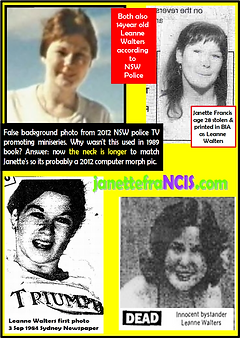 Card 1984 Newspapers BIA Fake News Leann