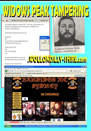Card 2010 Fake Snot 1984 Tony Spencer -S