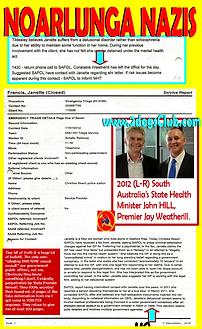 Card 2012 Noarlunga Nazis Weatherill and
