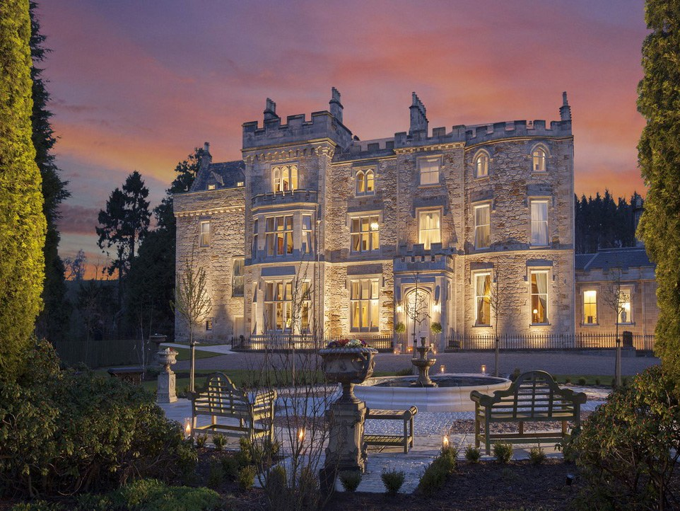 The Best Scottish Castle Hotels