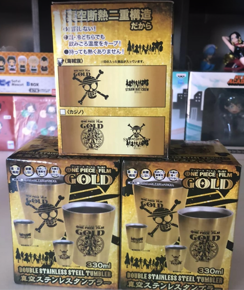 One Piece Double Stainless Steel Tumbler (each)