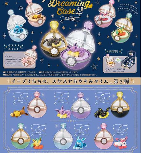 【Blinds/Re-ment】Pokemon Eevee & Friends Dreaming Case (single box)