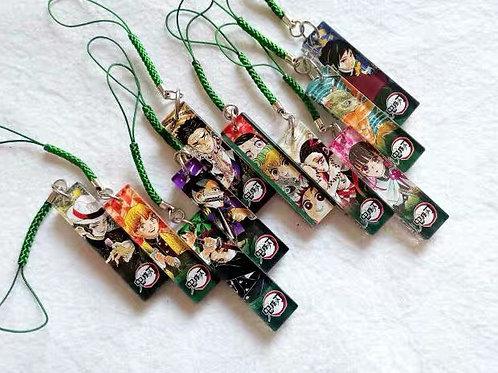 Demon Slayer Ver.2 Blind bag straps (ea)