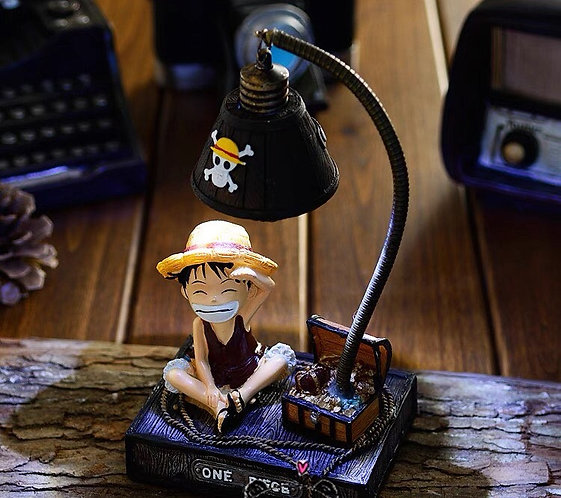 One piece Luffy lamp resin