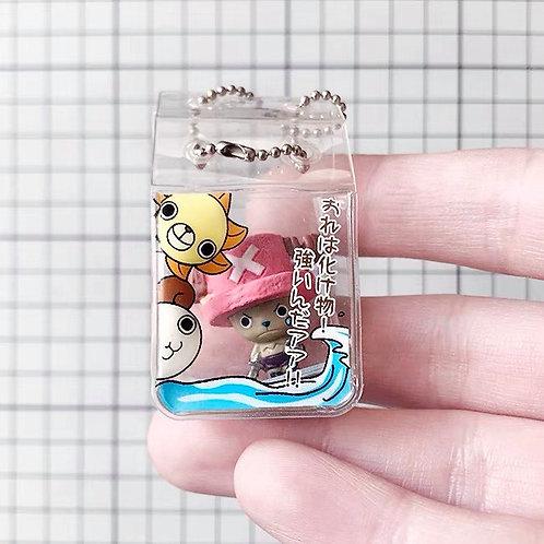 One Piece chopper cute keychain