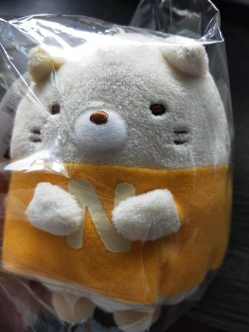 Sumikko Gurashi Neko plush mascot charm