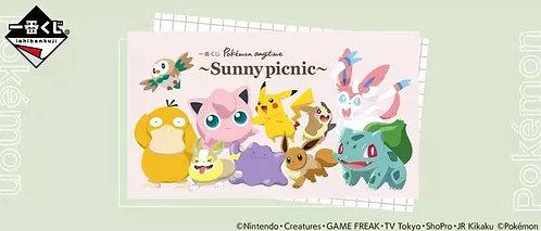 (ICHIBAN KUJI) Pokemon Sunny Picnic