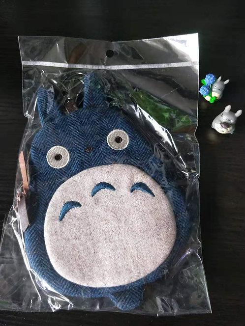 Studio Ghibli_Chu Totoro Zip Pouch with clip hook