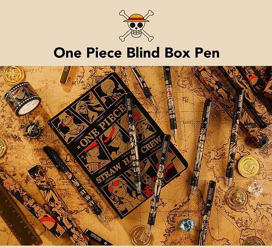 One Piece blind box pen