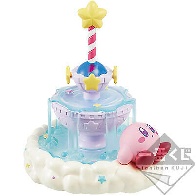 Kirby kuji Star Cloudy Candy Pen Holder & Pen B Prize
