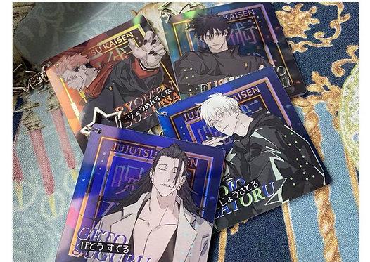 Jujutsu Kaisen Character Star keychains (Set of 4)-FPC