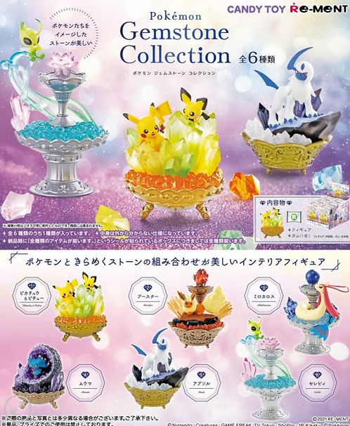 Pokemon Gemstone Collection Box (PO)