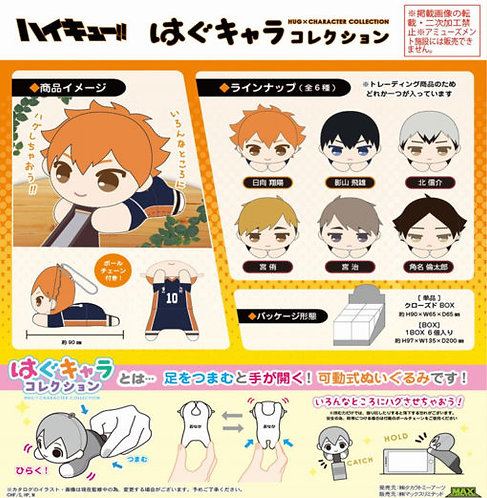 Haikyu!! Hug x Character Collection Box (one)
