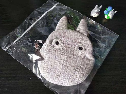 Studio Ghibli_Chibi Totoro Zip Pouch with clip hook
