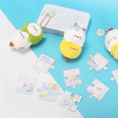 【Blind Box】Moegee Restaurant Series - Ice Cream plush pendant