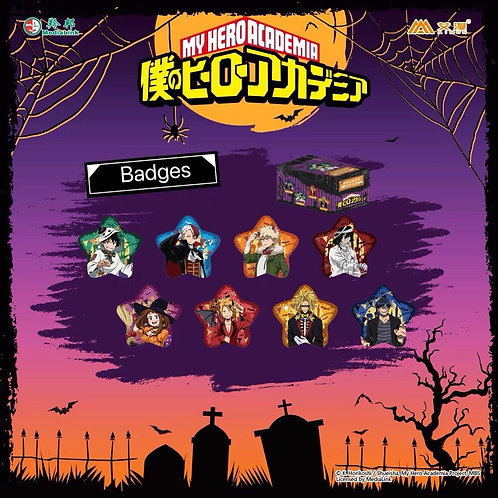 MHA Special Ver. Halloween Characters Blind Badge