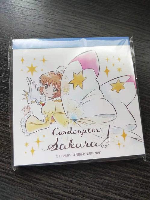 Cardcaptor Sakura It's Demo Memo Pad