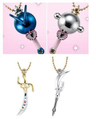 Little Charm Sailor Moon 2 & 3 (set of 4)